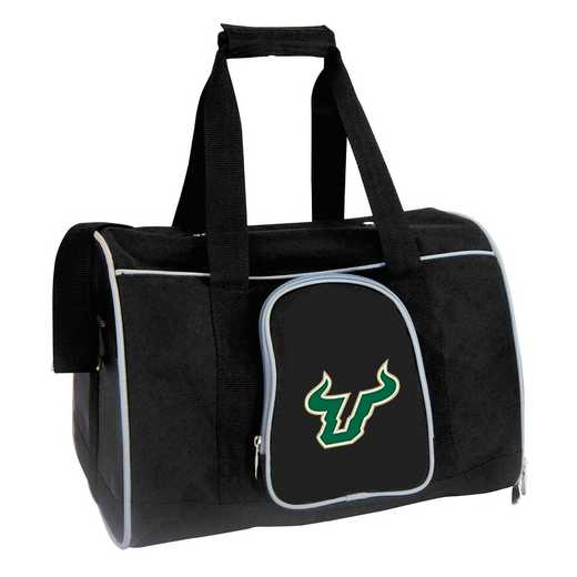 CLSFL901: NCAA South Florida Bulls Pet Carrier Premium 16in bag